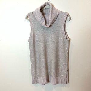 Neiman Marcus : cowl neck sparkly sweater